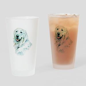 English Retriever Drinking Glass