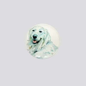 English Retriever Mini Button