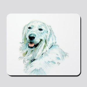 English Retriever Mousepad