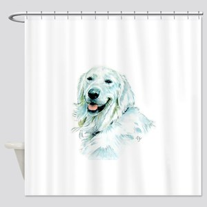 English Retriever Shower Curtain