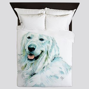 English Retriever Queen Duvet