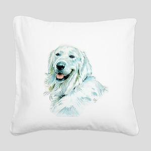 English Retriever Square Canvas Pillow