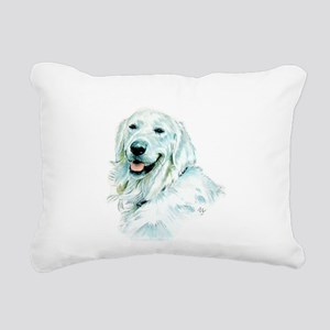 English Retriever Rectangular Canvas Pillow