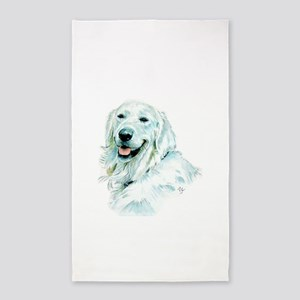 English Retriever Area Rug