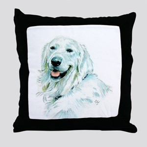 English Retriever Throw Pillow