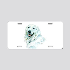 English Retriever Aluminum License Plate