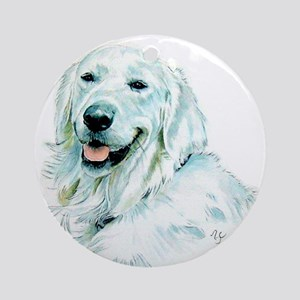 English Retriever Ornament (Round)