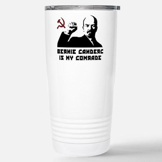 Bernie Sanders Is My Comrade Travel Mug