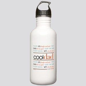 Modern Family Cool Dad Stainless Water Bottle 1.0L