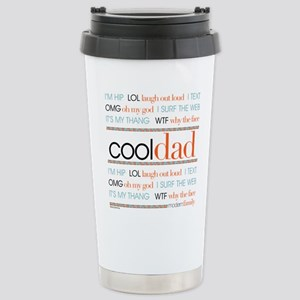 Modern Family Cool Dad Stainless Steel Travel Mug