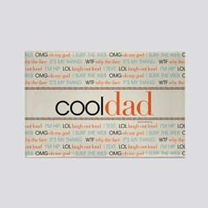Modern Family Cool Dad Rectangle Magnet