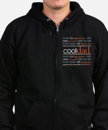 Modern Family Cool Dad Zip Hoodie (dark)