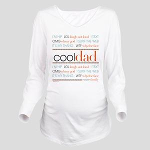 Modern Family Cool D Long Sleeve Maternity T-Shirt
