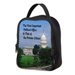 Political Office Neoprene Lunch Bag