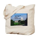 Political Office Tote Bag