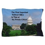 Political Office Pillow Case