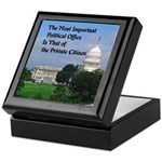 Political Office Keepsake Box