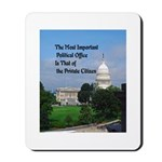 Political Office Mousepad