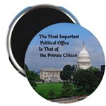 "Political Office 2.25"" Magnet (100 Pack) Magn"