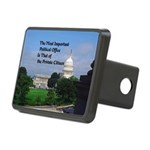 Political Office Rectangular Hitch Cover
