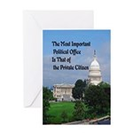 Political Office Greeting Card