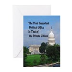 Political Office Greeting Cards (Pk of 20)