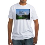 Political Office Fitted T-Shirt