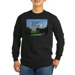 Political Office Long Sleeve Dark T-Shirt