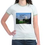 Political Office Jr. Ringer T-Shirt