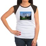 Political Office Junior's Cap Sleeve T-Shirt