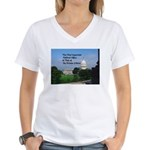 Political Office Women's V-Neck T-Shirt