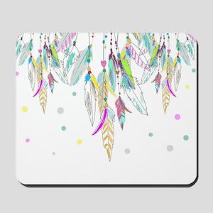 Dreamcatcher Feathers Mousepad