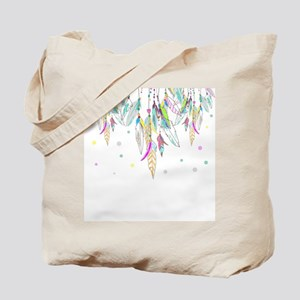 Dreamcatcher Feathers Tote Bag