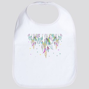 Dreamcatcher Feathers Bib