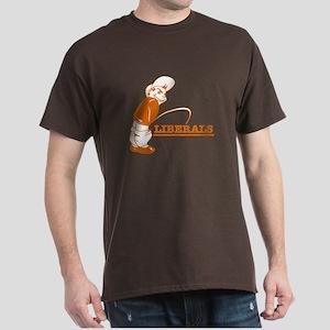 Piss on Liberals Dark T-Shirt