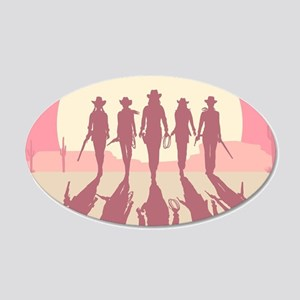 Cowgirls Wall Decal