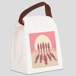 Cowgirls Canvas Lunch Bag