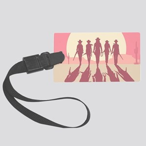 Cowgirls Luggage Tag