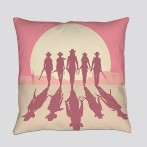 Cowgirls Everyday Pillow
