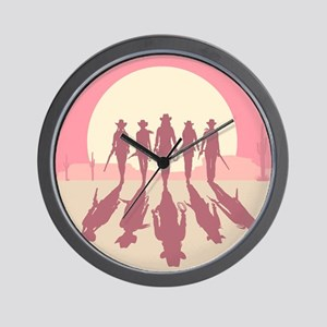 Cowgirls Wall Clock