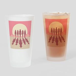 Cowgirls Drinking Glass