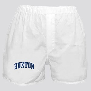 BUXTON design (blue) Boxer Shorts