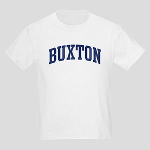 BUXTON design (blue) Kids Light T-Shirt