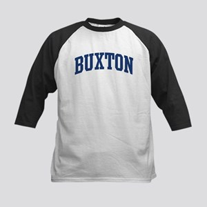 BUXTON design (blue) Kids Baseball Jersey