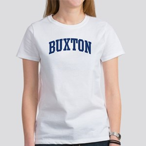 BUXTON design (blue) Women's T-Shirt