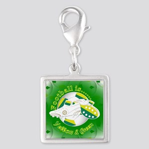 Yellow and Green Football Soccer Charms