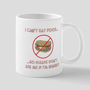 I cant eat Mugs