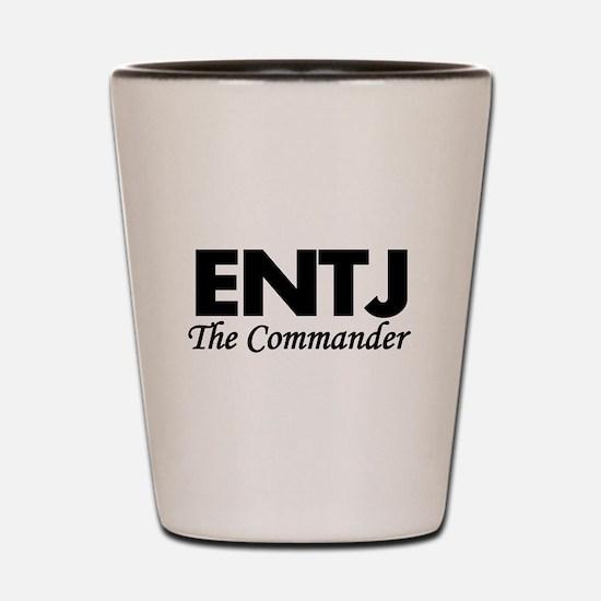 ENTJ | The Commander Shot Glass