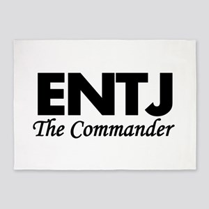 ENTJ | The Commander 5'x7'Area Rug