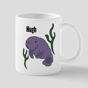 Hugh Manatee Art Mugs